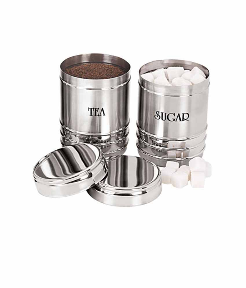 Dynore Stainless Steel Canister Set
