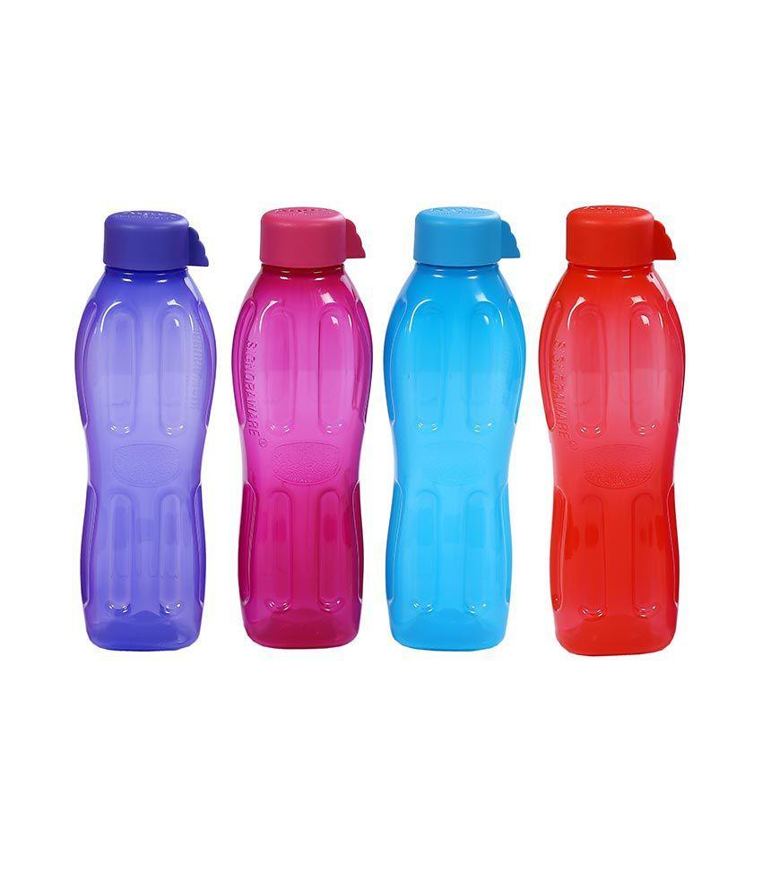 Tupperware Aquasafe Water Bottle Set 1Litre