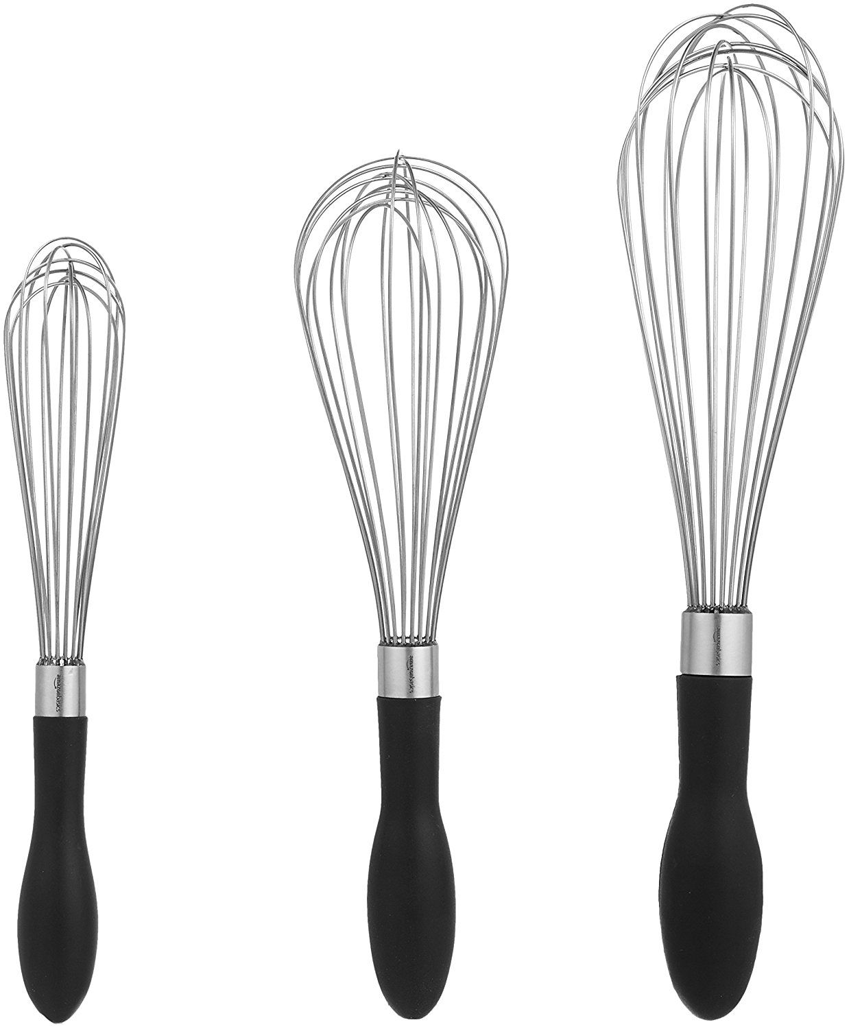 Stainless Steel Wire Whisk Set (3-Piece)