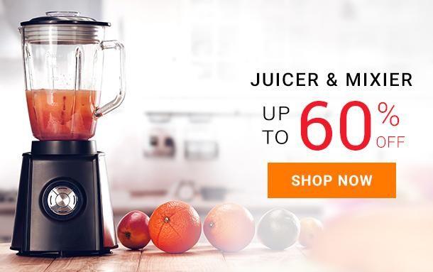 Juicer Mixer Grinder with Fruit Filter